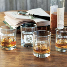 Load image into Gallery viewer, Hipchik Home Hero/Rebel Double Old Fashioned (Set of 4 Glasses)