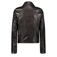 Load image into Gallery viewer, Hipchik Plain Leather Motorcycle Jacket (No Belt) - Hipchik