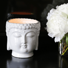 Load image into Gallery viewer, Thompson Ferrier White Buddha Scented Candle