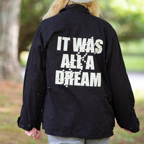 Hipchik Vintage It Was All A Dream Jacket