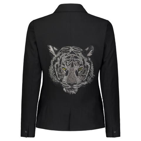 """Small Tiger"" Black Blazer - HIPCHIK"