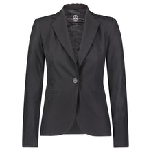 Load image into Gallery viewer, Hipchik Blue Skull Black Blazer - Hipchik