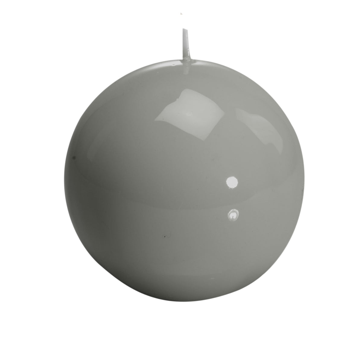 """Sphere"", Candle Gray"