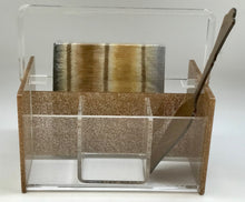 Load image into Gallery viewer, Hipchik Pop Silverware Caddy Acrylic Lucite - Hipchik