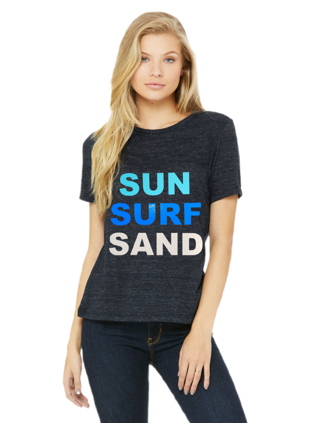 Hipchik Happy Crew neck Sun Surf Sand