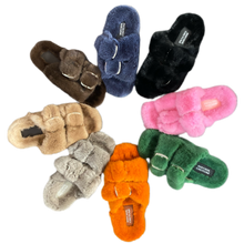 Load image into Gallery viewer, Mink Sandals Birk Style