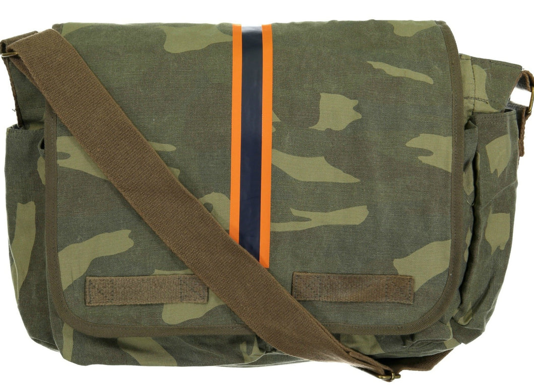 Hipchik Bags Striped Camo Messenger Bag Monogrammed Available - Hipchik