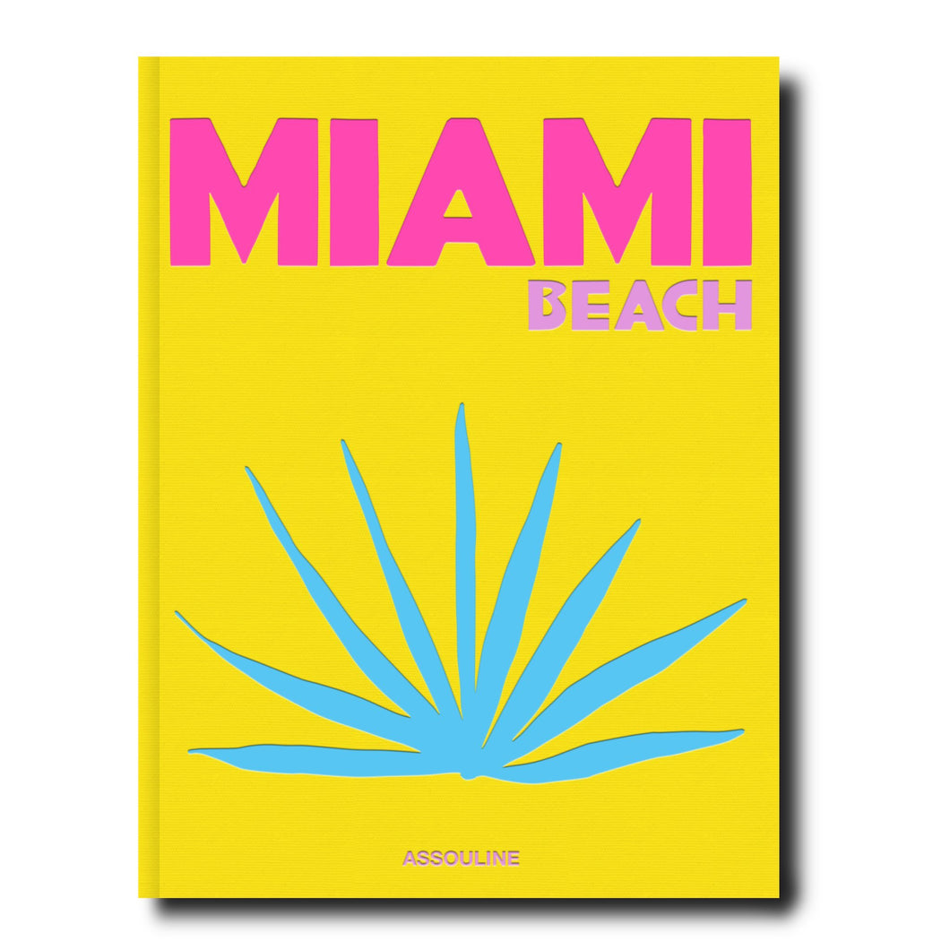Miami Beach Travel Hard Cover Book
