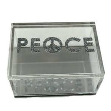Load image into Gallery viewer, Hipchik Pop Peace Acrylic Lucite Box - Hipchik