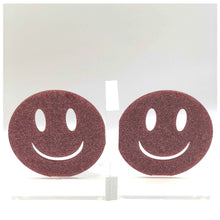 Load image into Gallery viewer, Hipchik Smiley Face Acrylic Lucite Bookends - Hipchik