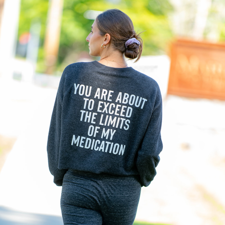 Hipchik Crew Fleece Sweatshirt meds