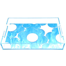 Load image into Gallery viewer, Daisies Acrylic Lucite Tray