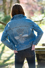 Load image into Gallery viewer, Sample Sale Hipchik Bee Denim Jean Jacket