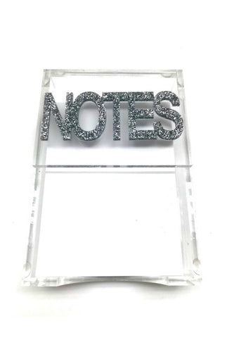 Hipchik Pop Notes Acrylic Lucite Paper Holder - Hipchik