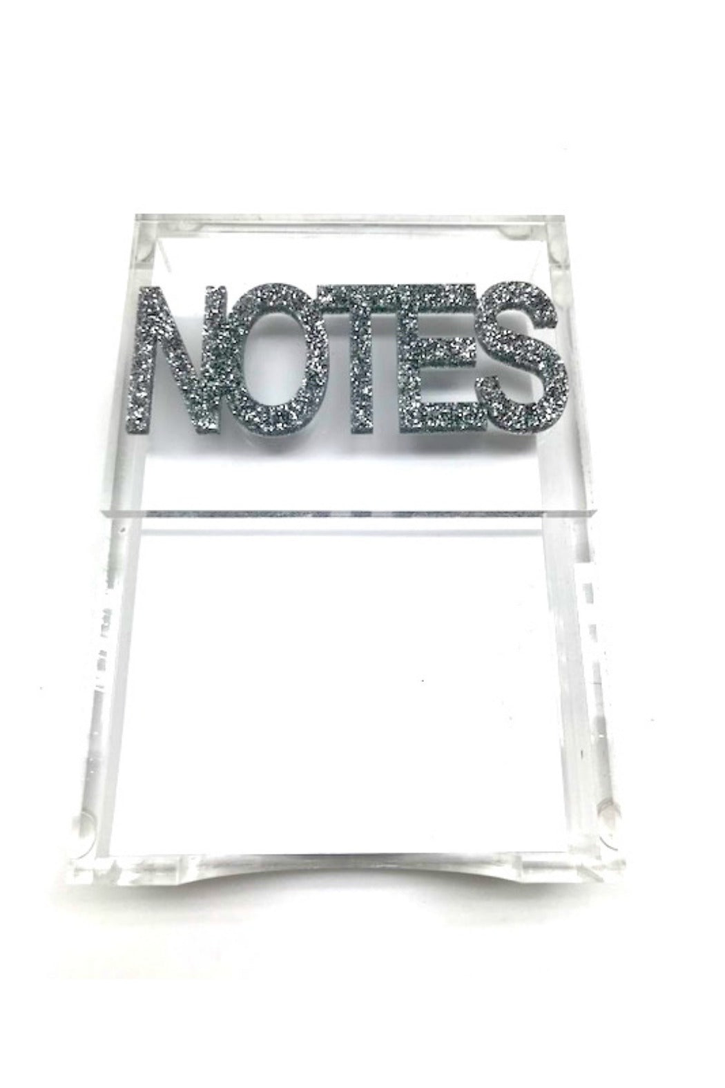 Notes Acrylic Lucite Paper Holder