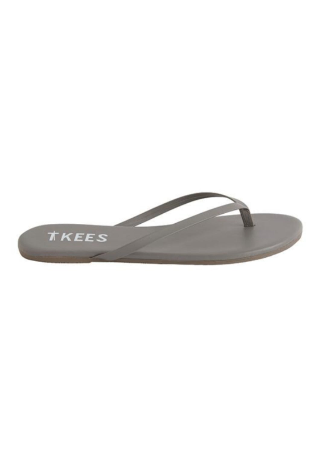 """TKEES"", Solid Gray Color #9 Sandals"