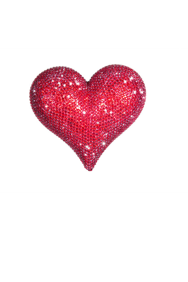 """Red Rhinestone"", Love Heart"