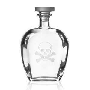 Hipchik Home Skull and Cross Bones Whiskey Decanter