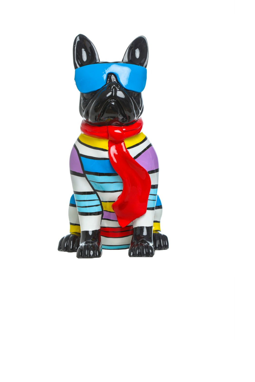 """Stripe"", Dog With Blue or Black Glasses"