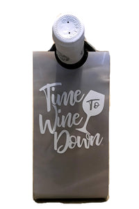 Hipchik Pop Time To Wine Down Wine Holder - Hipchik