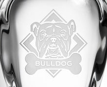 Load image into Gallery viewer, Hipchik Home Woof! Bulldog Whiskey Decanter