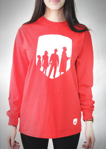 LIA Red Long Sleeve