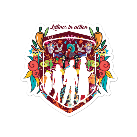 """The Yeko"" Day of the Dead Sticker"