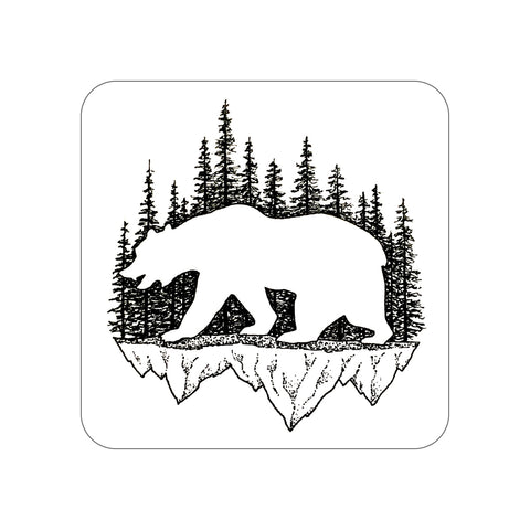 California Grizzly Sticker