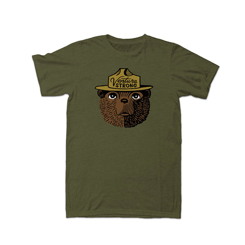 Ventura Strong Smokey the Bear Unisex Tee