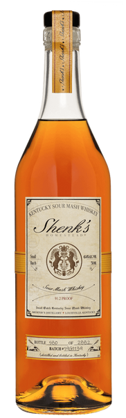 Shenk's Homestead Small Batch Kentucky Sour Mash Whiskey 2019 (750ml)