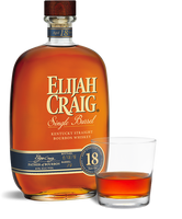 Elijah Craig 18 Year Old Single Barrel Kentucky Straight Bourbon Whiskey 2018 (750ml)