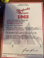 1963 Glenfarclas Family Cask 175 Sherry Hogshead Single Malt Whiskey (750ml)