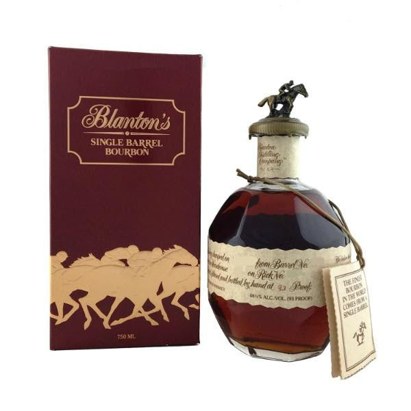 Blanton's 'Cream label - Takara Red' Single Barrel Kentucky Straight Bourbon Whiskey (700ml)