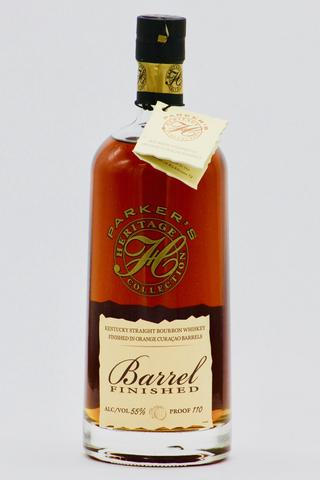 Parker's Heritage Collection 12th Release Ex-Orange Curacao Barrel Finished Straight Bourbon Whiskey (750ml)