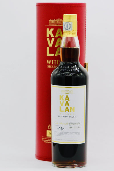 Kavalan Sherry Cask Whiskey (56.3% Cask Strength - 750ml)