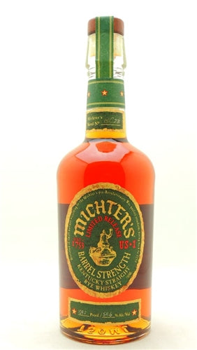 Michter's Barrel Proof Straight Rye 2019 (110.2 Proof) Barrel 19C479 (750ml)