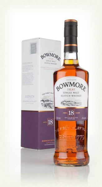 Bowmore 18 Year Old Islay Single Malt Scotch Whisky (750ml)