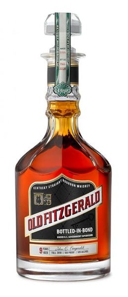 "Old Fitzgerald ""Bottled in Bond"" 9 Year Old Bourbon"
