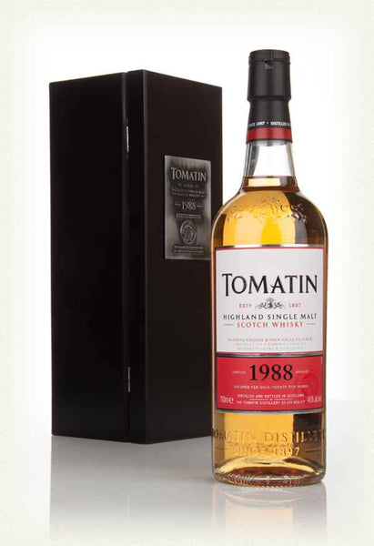 "Tomatin ""Limited 1988 Release - Batch #1"" Highland Single Malt Scotch Whiskey (750ml)"