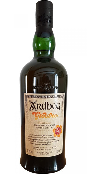 "Ardbeg ""Grooves - Committee Release 51.6%"" Limited Edition Islay Single Malt Whisky (750ml)"