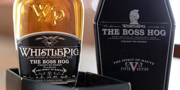 "Whistlepig ""The Boss Hog - Spirit of Mauve - 5th Edition"" Rye Whiskey (750ml)"