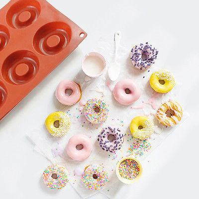 Silicone Donut-Muffin Baking Mold
