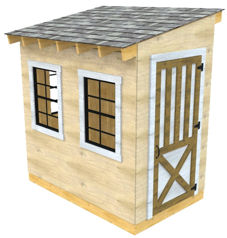 Building Your Own Garden Shed Can Be Quite A Rewarding Experience.  Pre Built Sheds Very Often Are Made As Cheaply As Possible, Using The  Minimal Amount Of ...
