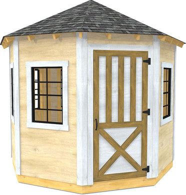 10x10 Clifford Shed Plan