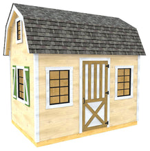 Evelyn Shed Plan (2‑Sizes)
