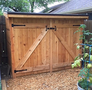 free lean-to roof shed