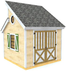 Irene Shed Plan (2‑Sizes)