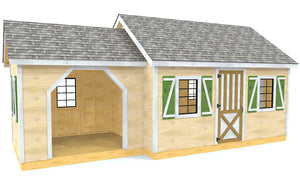12x26 Lawrence Shed Plan