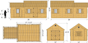 Lawrence Shed Plan