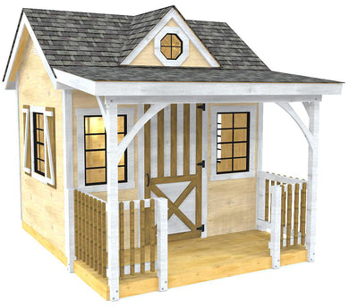 Wendy shed and playhouse plan